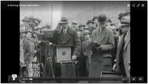 Video - Noise in NYC 1920s