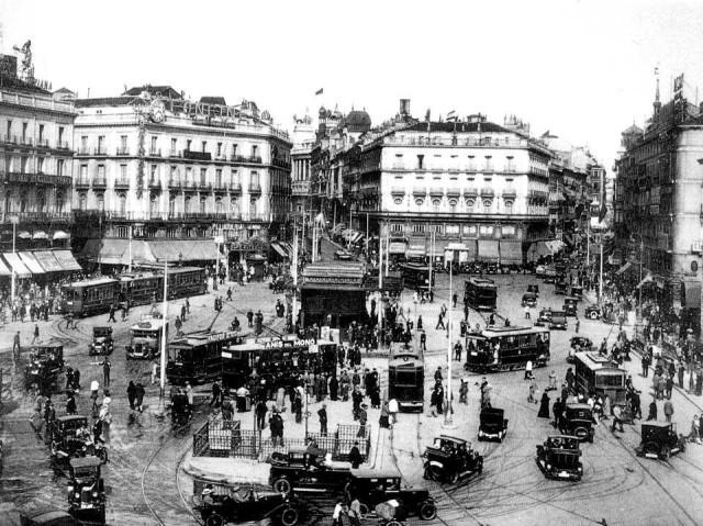 Puerta del sol - Madrid, 1930