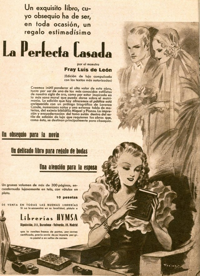 La perfecta casada in the twentieth century