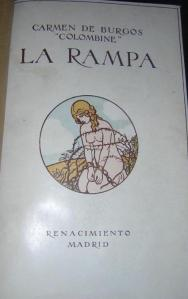 "According to the newest edition of ""La rampa"" (Stockcero 2006), this cover graced the earliest editions of the novel."