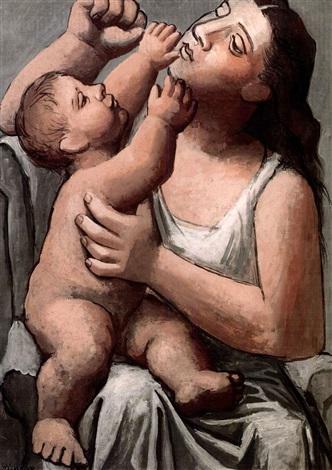 picasso_maternidad_Madre e hijo_1921-artnet