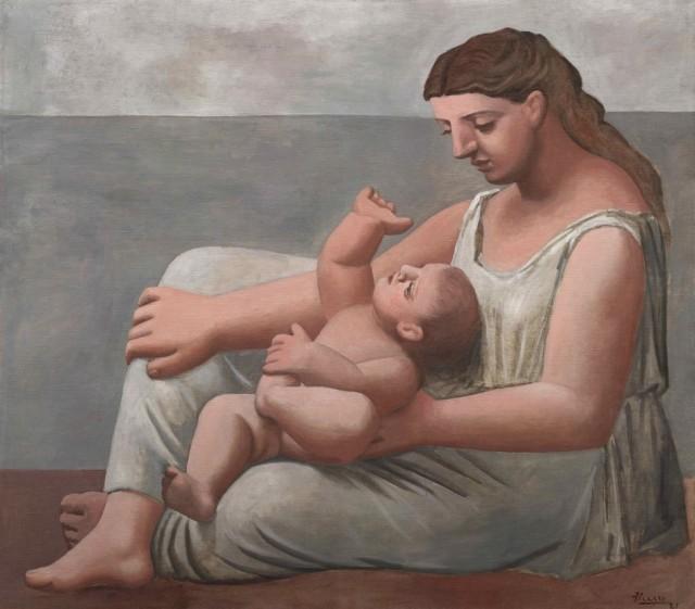 picasso_maternidad_Madre e hijo_mar