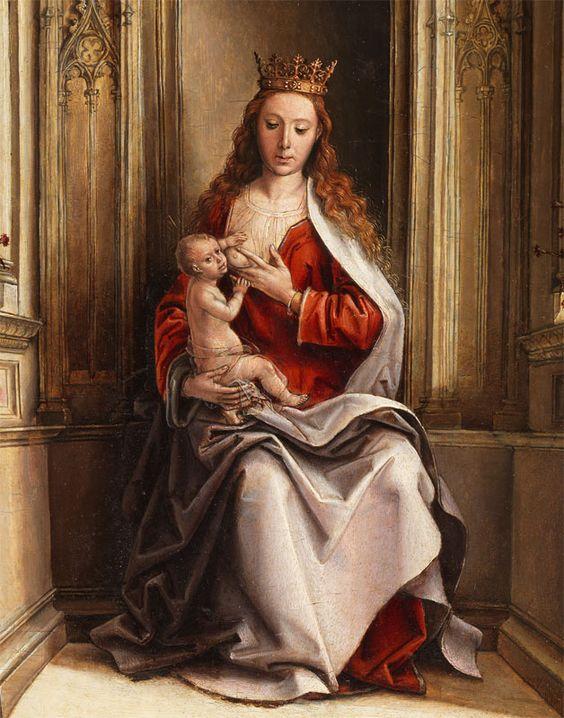 La virgen de la leche_Pedro Berruguete-1500