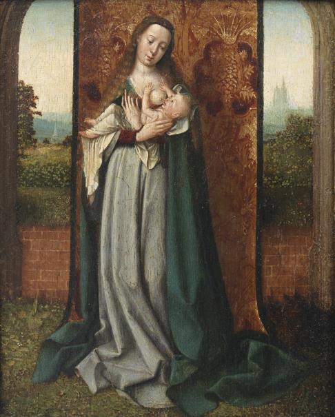 Virgen con el nino_Jan provost