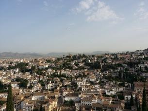 View of El Albayzin