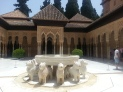 The Alhambra's Patio de los leones - Granada, Spain (July 2015)