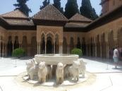 The Alhambra's Patio de los leones - Granada, Spain (July 2015)