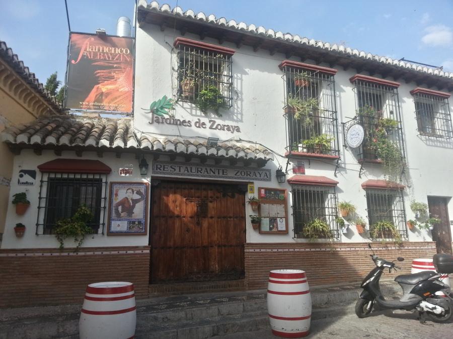 Restaurant in the Albayzin