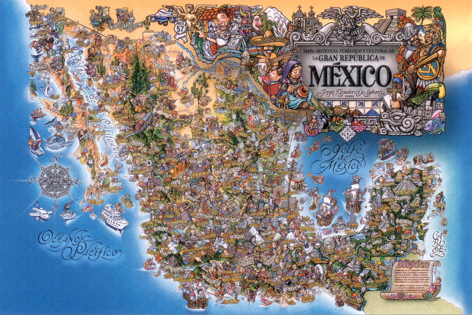 Summer in Mexico Monuments Murals and Mole oh my Rebecca M