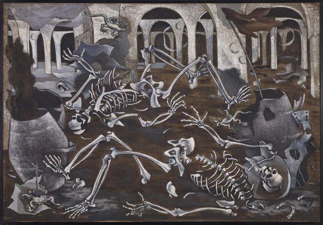 """""""Antro de fósiles"""" (Fossil Den), Maruja Mallo, 1930"""
