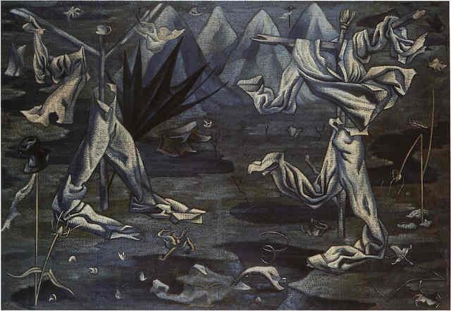 """""""Espantapájaros"""" (Scarecrows), Maruja Mallo, 1930."""