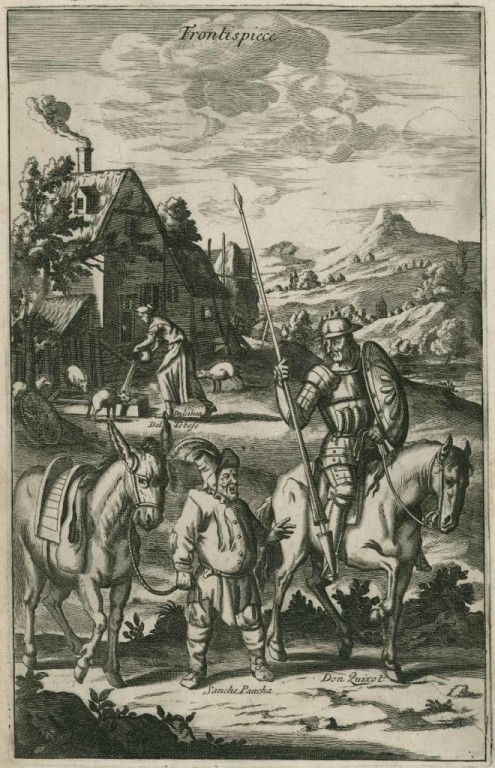 donquijote-frontspiece_folger-shakespeare-library