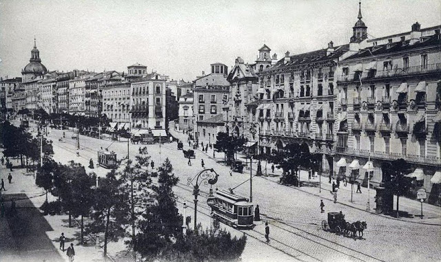 1910-madrid-calle-alcala-y-futura-gran-via