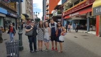With students in San Jose, Costa Rica, Jan '18