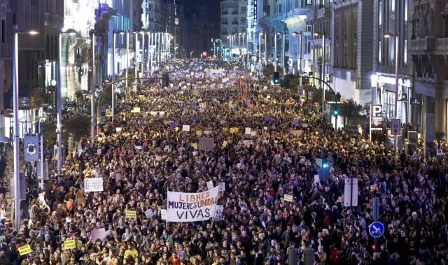 Manifestacion 8 de marzo_madrid_2017