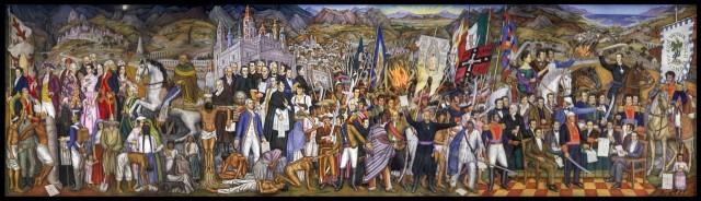 mural de independencia