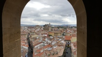 View of Pamplona from the Cathedral bell towers, June '18