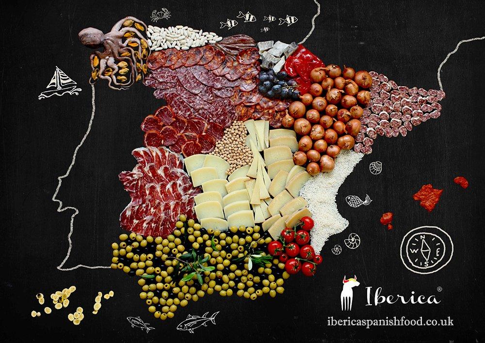 food map Spain_Iberica 2016