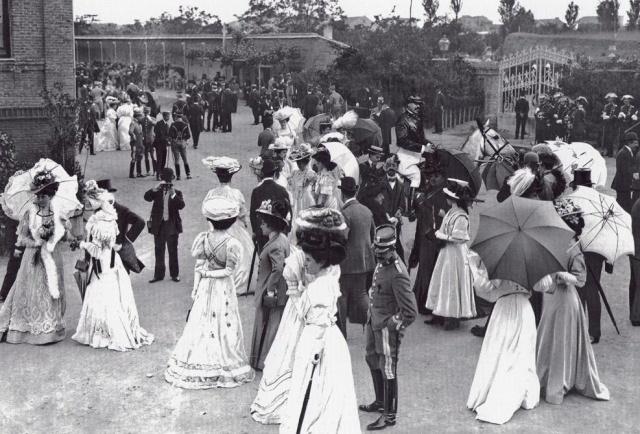 Hipodromo de la Castellana, Madrid 1902
