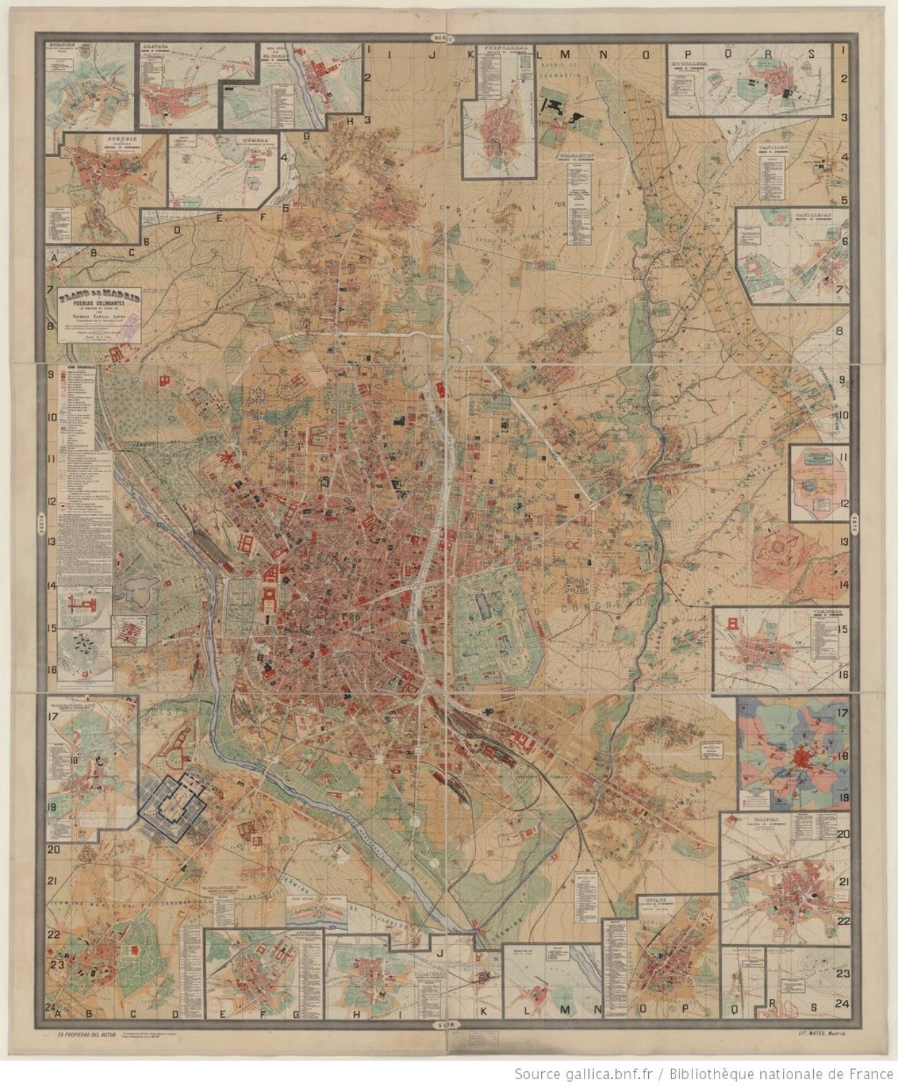 Plano de Madrid_Canada Lopez 1902_BNF