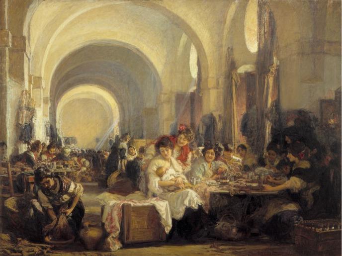 BilbaoMartinez_Las Cigarreras de Sevilla_1915-BellasArtes