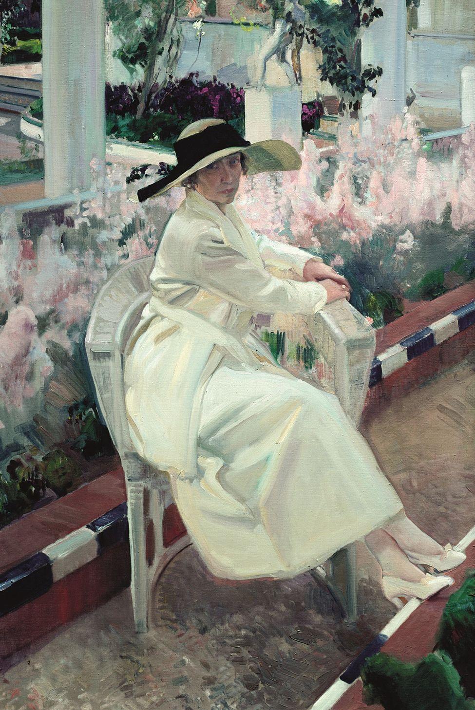 Sorrolla_Clotilde-jardin_1919_ElDiairo